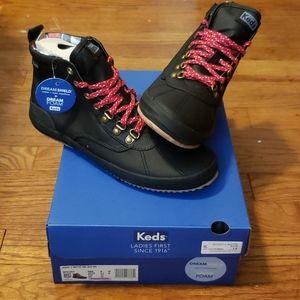 NIB Keds Scout Boot II Matte Twill WX